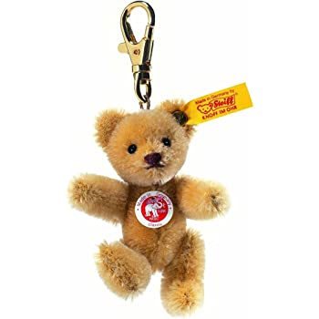 Steiff 8cm Keyring Mini Teddy Bear Jointed (Wheat Blond)  Amazon.co ... 2f02661082d8