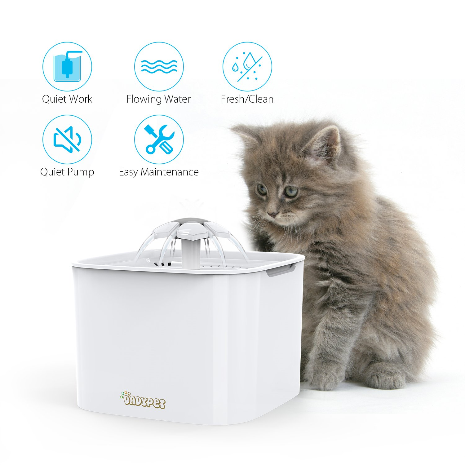 Distributore Fontana Fontanella Cat Mate Abbeveratoio Cani E Gatti Cat Supplies