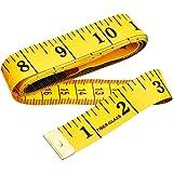 Cinta métrica blanda de doble cara para medir el cuerpo (la circunferencia del pecho/la cintura). Herramienta de costura, 150