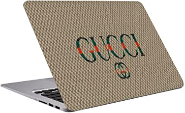 Richer Brand Gucci Laptop Skin 15.6 inch-Laptop Decal-3M Vinyl -Skin Stickers for All Makes and Models (Upto 15.6 inches),Dimensions 10.5 x 15.6 inch