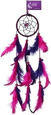 Asian Hobby Crafts Dream Catcher Wall Hanging, Purple Haze