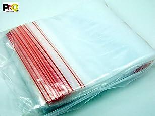 POPESQ® 100 Stk. x ZIP Druckverschluss Beutel 60mm x 80mm 45µ Polypropylen Transparent / 100 pcs. x ZIP ZIP Bag 60mm x 80mm 45µ Polypropylene Transparent #A2265
