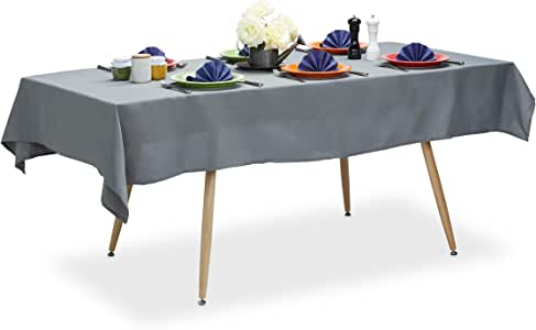 Relaxdays Tischdecke wasserabweisend, pflegeleicht