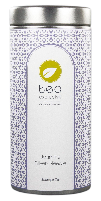 tea-exclusive-Jasmine-Silver-Needle-hochwertiger-Weisser-Tee-mit-Jasmin-China-Dose-50g