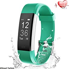 Fitness Tracker, Attivita Tracker, GPS Activity Tracker Orologio Smart Watch Cardiofrequenzimetro Impermeabile IP67 Cardio Frequenzimetro Pedometro Fitness Tracker Bluetooth Braccialetto Wristband-Verde