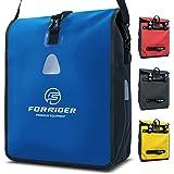 Forrider Fahrradtasche Wasserdicht für Gepäckträger [22L Volumen] mit Schultergurt   Gepäckträgertasche   Einzel   Fahrrad Ta
