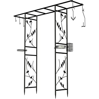 Bird Feeding Station Arbor Frt Amazon Co Uk Garden Outdoors