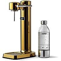 Machine à eau pétillante Aarke Carbonator 3 avec boîtier en acie finition Or r inoxydable et bouteille en PET de qualité…