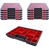 Assortimentsdoos kunststof assortiment doos NORP 16 in 10-delige set afmetingen ca. 400x300x50 mm