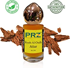 PRZ Rooh-Al-Oudh Attar Roll-on For Unisex (10 ML) - Pure Natural Premium Quality Perfume (Non-Alcoholic)