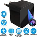 M S TECH Spy WiFi 1080P USB Charger Camera Series 2 Wireless HD Watch Directly Live Streaming Audio and Video Camcorder, Nanny Cam for phone with Remote View Anywhere Anytime
