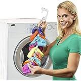 SockDock Chaussette Outil de blanchisserie et Cintre pour Laver, sécher et Ranger des Paires de Chaussettes, Pas de tri ni de