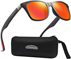 Lunettes de Soleil polarisées Homme Femme/Sports Eyewear réfléchissantes avec Sports de Plein air d'été Conduite pêche...