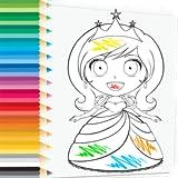 Prince and Princess Coloring Book - Ama le belle principesse? Divertiti a disegnare e dipingere gioco di pagine da colorare principesse gratis!