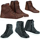 Motorcycle Boots Motorbike Rider shoes Leather CE Armour Boot Motorcycle Men Waterproof Shoes Sneaker Fashion For Men Boys Br