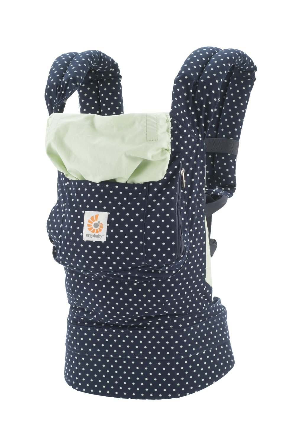 Ergobaby Original Collection Evolutionary Backpack Baby Carrier one size Ergobaby The baby's weight is evenly distributed between the wearer's hips and shoulders. The baby is ergonomically cradled in a natural seated position. It has front, back, and hip carrying positions. 6