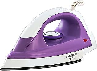 Eveready DI110 1000-Watt Dry Iron (White)