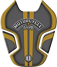 Autographix 1005130 MT Club Tank Pad for Royal Enfield (Grey and Gold)