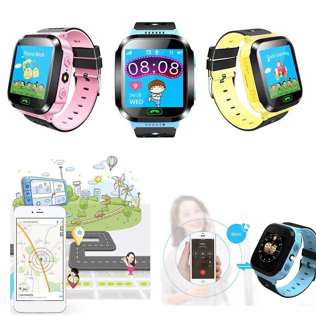 iloits Children Boys and Girls Base Station Positioning Wrist GM8 Smart Watch Gift Smartwatches