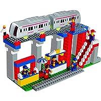 KHUSH Metro Station Building Blocks for Kids Ages 4+ Years (355 PCS Blocks)