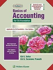 Basics of Accounting for CA Foundation New Syllabus