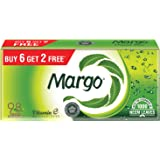 Margo Original Neem Soap - 100 gm Pack of 8 (Buy 6 Get 2 Free)
