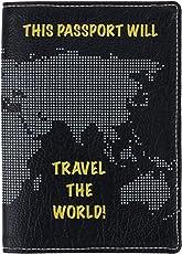 Thathing Travel The World Blue Passport Wallet