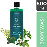 ST. D'VENCE Tea Tree Body Wash with Eucalyptus and Peppermint Oil