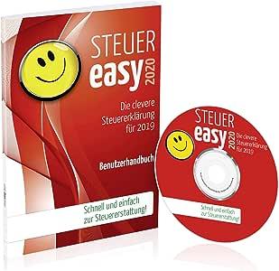STEUEReasy 2020, Steuersoftware für die Steuererklärung 2019, Steuer CD-Rom für Steuer-Anfänger für Windows 10, 8 in frustfreier Verpackung (FFP)