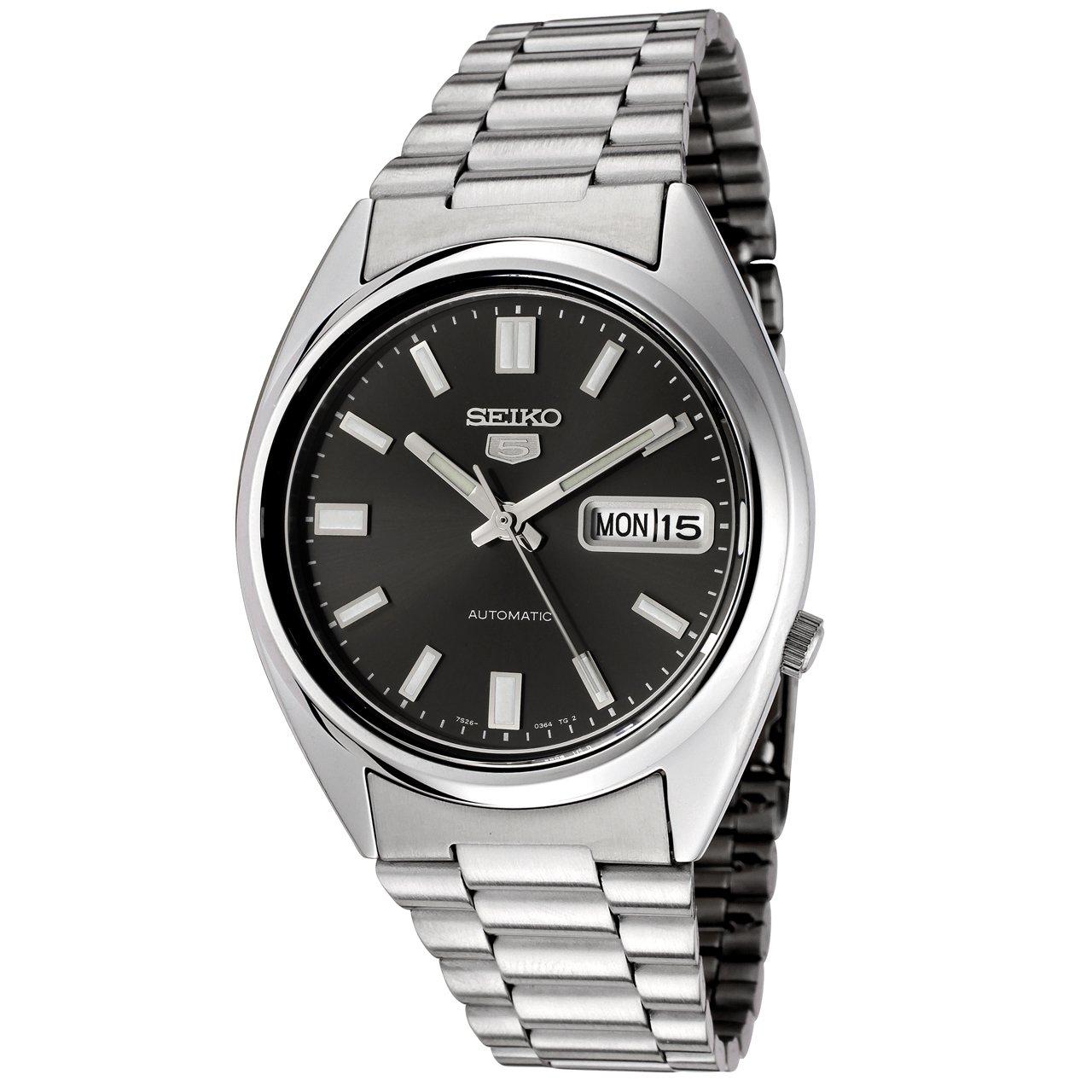 Seiko Unisex Analogue Quartz Watch with Stainless Steel Bracelet – SNXS79K