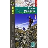 Aneto Maladeta. Valles de Benasque y Barravés. Escala 1:25.000. Mapa Excursionista. Castellano, English, Française. Alpina Ed