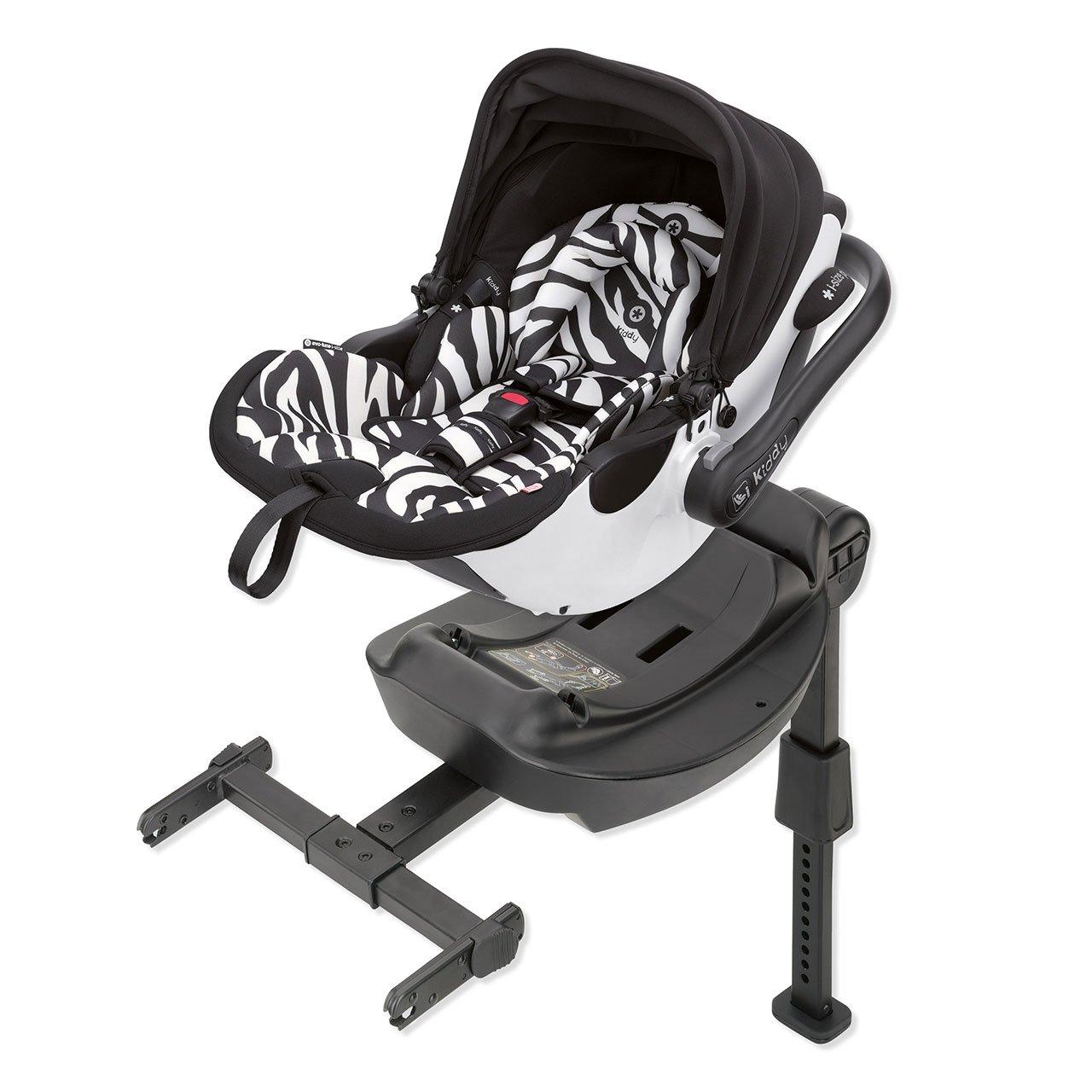 Kiddy Evo Luna i Size Babyschale Zebra
