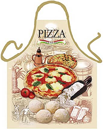 sabuy Grillschürze - Kochschürze - Italienische Pizza