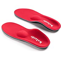 Orthotic Insoles, High Arch Support Soft Insert for Flat Feet, Plantar Fasciitis, Feet Pain, Foot Valgus, Over Pronation…