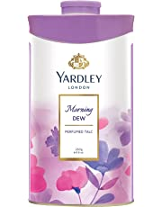Yardley London Morning Dew Perfumed Talc for Women, 250g