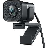 Logitech StreamCam – Webcam per Live Streaming su Youtube e Twitch, Full HD 1080p a 60 fps, Connessione USB-C, Facial…