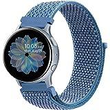DEOU Correa para Samsung Galaxy Watch Active 2 40mm 44mm & Galaxy Watch Active & Galaxy Watch 3 41mm & Galaxy Watch 42mm,20mm
