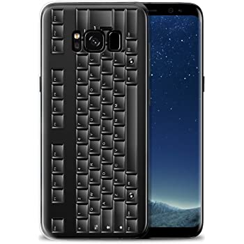 separation shoes de3af 47a3c Samsung Keyboard Cover for S8 - Black: Amazon.co.uk: Electronics