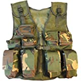 Kombat UK Kid's Army Assault Vest, DPM Camo, One Size