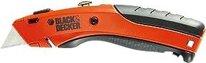 Black & Decker BDHT0-10197 Coltello a Lama Retrattile