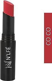 NELF Powder Matte Lipstick, Co Co, 3 g
