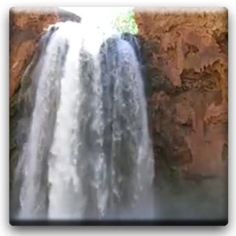 Desert Waterfall Live Wallpaper
