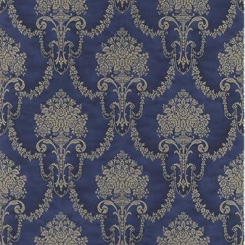 Kindertapete Streifen dunkelblau Rasch Textil Favola 303234 3,86€//1qm