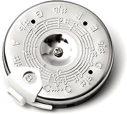 Elagon (PPC) chromatische Stimmpfeife zur Tonhöhenvorgabe für Sänger und Instrumentalisten - von C bis C. Für Gitarre, Bass, Violine, jegliche Saiteninstrumente, Blechblasinstrument oder zum Anstimmen und Intonieren von Sängern.