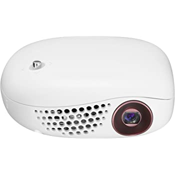 LG Minibeam PV150G Portable LED Projector (White)