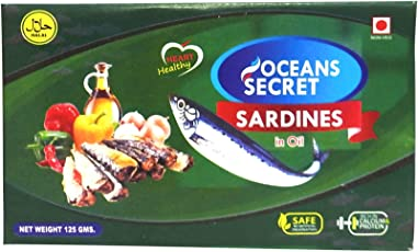 Ocean Secrets Sardines in Oil 125 g
