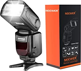 Neewer NW620 (GN58) Speedlite Flash con LCD Display per Canon Nikon Panasonic Olympus Pentax con Scarpa standard Caldo e Sony Fotocamera con Nuovo Mi Hot Shoe come A7 A7S A7SII A7R A7RII A7II A6000 A6300 A6500