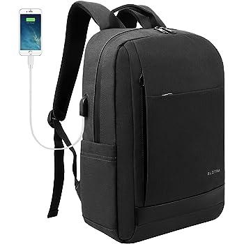 SLOTRA Zaino per PC Portatile Impermeabile Zaino per laptop con porta USB  Borsa per Portatile 15 15 263f3c677a5