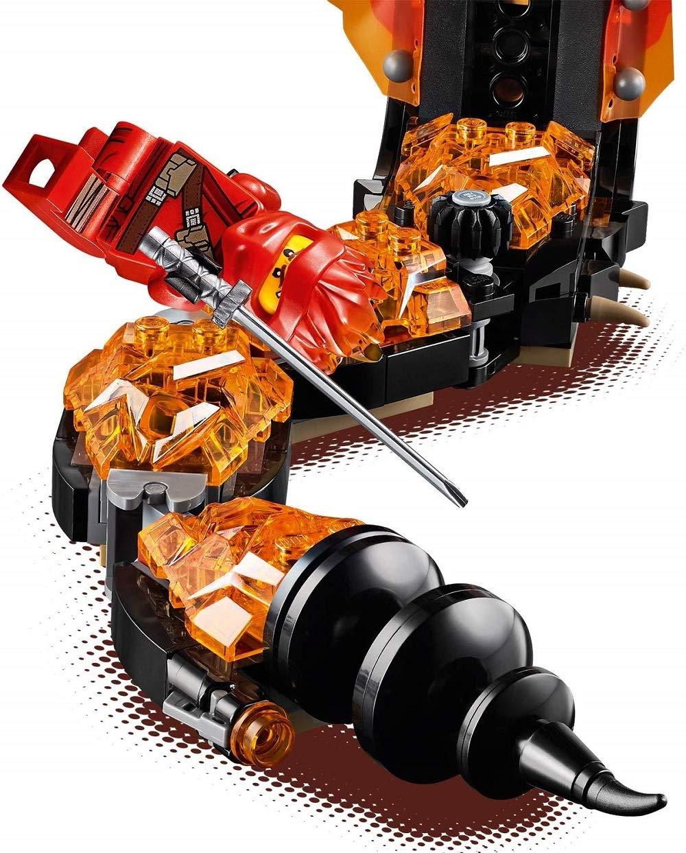 LEGO Zanna Di Fuoco Costruzioni Piccole 5 spesavip