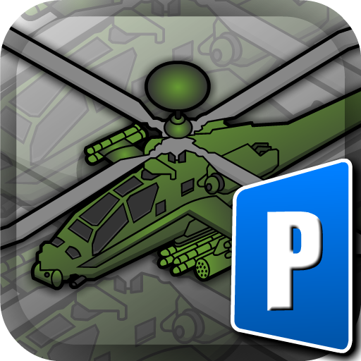 Blackhawk Park (Black Hawk Apache Chopper - RC Control Helicopter Flight, Land, Parking Simulator)